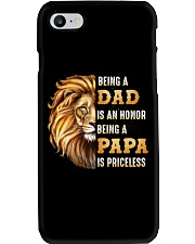 Lion Being A Dad Is An Honor A Papa Is Priceless Phone Case thumbnail