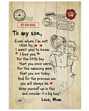Even When I'm Not Close By Mom To Son Vertical Poster tile