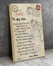 Even When I'm Not Close By Mom To Son 16x24 Gallery Wrapped Canvas Prints aos-canvas-pgw-16x24-lifestyle-front-02