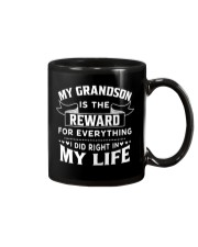 My Grandson Is The Reward For Everything Mug thumbnail