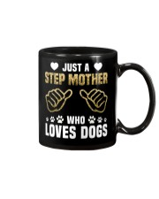 Just A Step Mother Who Loves Dogs Mug thumbnail