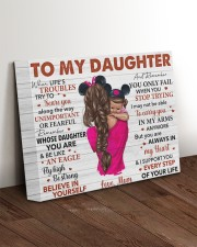 When Life's Troubles Try To ScareU Mom To Daughter 14x11 Gallery Wrapped Canvas Prints aos-canvas-pgw-14x11-lifestyle-front-17