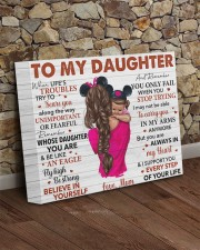 When Life's Troubles Try To ScareU Mom To Daughter 14x11 Gallery Wrapped Canvas Prints aos-canvas-pgw-14x11-lifestyle-front-21