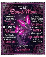 """I Didn't Give U The Gift Butterfly To Bonus Mom Fleece Blanket - 50"""" x 60"""" front"""