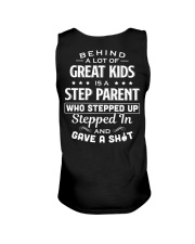 Behind A Lot Of Great Kids Is A Step Parent Unisex Tank thumbnail