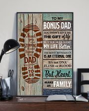 Bonus Dad - Thank you for Steping in and become th 11x17 Poster lifestyle-poster-2