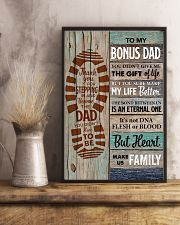 Bonus Dad - Thank you for Steping in and become th 11x17 Poster lifestyle-poster-3
