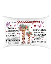 Remember U Are Braver Than U Believe GM To GD Rectangular Pillowcase front