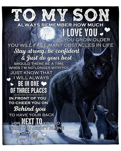 Son Wolf Always Remember How Much I Love You
