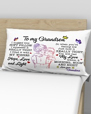 Grandson Hold It You'll Feel My Love Within In Rectangular Pillowcase aos-pillow-rectangular-front-lifestyle-02