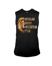 Husband Lion Daddy Protector Hero Sleeveless Tee thumbnail