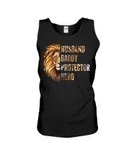 Husband Lion Daddy Protector Hero Unisex Tank thumbnail