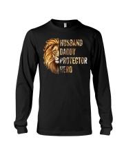 Husband Lion Daddy Protector Hero Long Sleeve Tee thumbnail