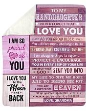 "You Are My Sunshine - Grandma-To-Granddaughter Sherpa Fleece Blanket - 50"" x 60"" thumbnail"