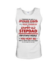 I'm A Spoiled Stepdaughter Of A Grumpy Old Stepdad Unisex Tank thumbnail