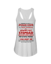 I'm A Spoiled Stepdaughter Of A Grumpy Old Stepdad Ladies Flowy Tank thumbnail