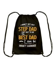 I Set Out To Be The Best Dad Drawstring Bag thumbnail