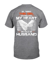 My Heart Only Beats For Wife Was Born In January Classic T-Shirt back