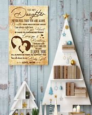Daughter I Would Use My Last Breath To Say I LoveU 11x17 Poster lifestyle-holiday-poster-2