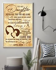 Daughter I Would Use My Last Breath To Say I LoveU 11x17 Poster lifestyle-poster-1