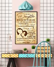 Daughter I Would Use My Last Breath To Say I LoveU 11x17 Poster lifestyle-poster-6