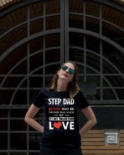 Step Dad Blood Not Thicker Than Love Ladies T-Shirt lifestyle-women-crewneck-front-1