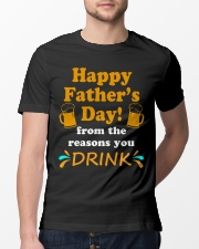 Happy Father's Day from the reasons you Classic T-Shirt lifestyle-mens-crewneck-front-13