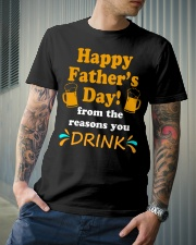 Happy Father's Day from the reasons you Classic T-Shirt lifestyle-mens-crewneck-front-6