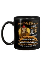 To My Dear Daughter-In-Law From Mother-in-law  Mug back