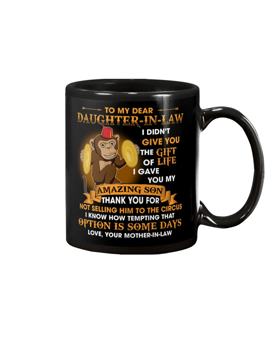 To My Dear Daughter-In-Law From Mother-in-law  Mug