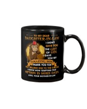 To My Dear Daughter-In-Law From Mother-in-law  Mug front