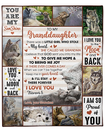Granddaughter Wolf I'll Stay Your Heart Forever GM