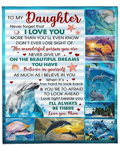 Daughter Dolphin I Love U And I'll ALways Be There