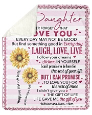 """Never Forget I Love You Mom To Daughter Sherpa Fleece Blanket - 50"""" x 60"""" thumbnail"""