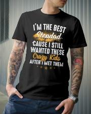 I'm the best StepDad Classic T-Shirt lifestyle-mens-crewneck-front-6