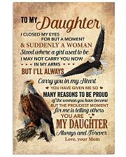 I Closed My Eyes For But A Moment Mom To Daughter 11x17 Poster thumbnail