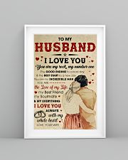 Husband I Love You Always With My Whole Heart 11x17 Poster lifestyle-poster-5