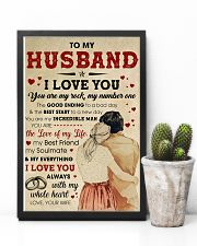 Husband I Love You Always With My Whole Heart 11x17 Poster lifestyle-poster-8