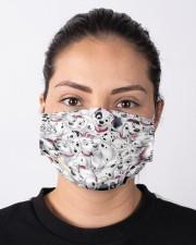 Dalmatian Cloth face mask aos-face-mask-lifestyle-01