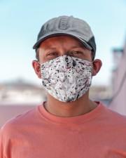Dalmatian Cloth face mask aos-face-mask-lifestyle-06