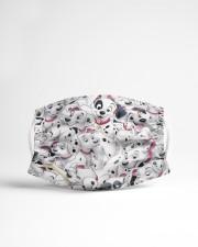 Dalmatian Cloth face mask aos-face-mask-lifestyle-22