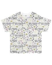 West Highland White Terrier All-over T-Shirt thumbnail