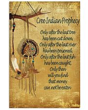 Cree Indian Prophecy 24x36 Poster front