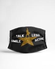 TALK LESS SMILE MORE Cloth face mask aos-face-mask-lifestyle-22