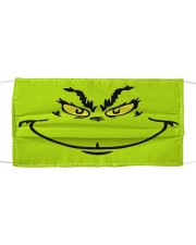 Grinch Face Cloth face mask front