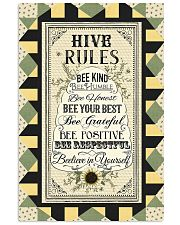HIVE RULES 24x36 Poster front