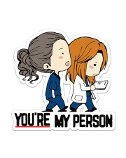 You're my person  Sticker - Single (Vertical) front