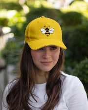 Bee Happy Embroidered Hat garment-embroidery-hat-lifestyle-07