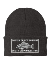 To fish or not to fish hat Knit Beanie thumbnail