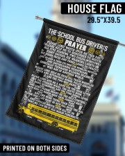 """THE SCHOOL BUS DRIVER'S PRAYER 29.5""""x39.5"""" House Flag aos-house-flag-29-5-x-39-5-ghosted-lifestyle-12"""